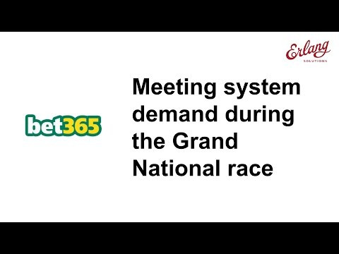Meeting system demand during the Grand National race - Erlang at bet365