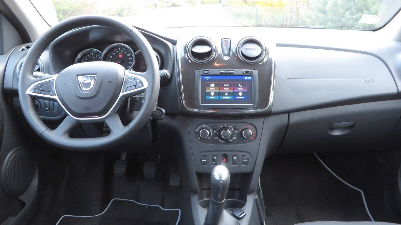 Renault Duster 2017 >> New Dacia Logan MCV 2017 Interior | MediaNav Evolution - YouTube