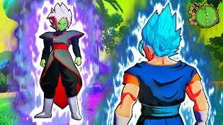 Dragon Ball Z Kakarot - NEW Fused Zamasu Vs Vegito Blue Gameplay (MODS)