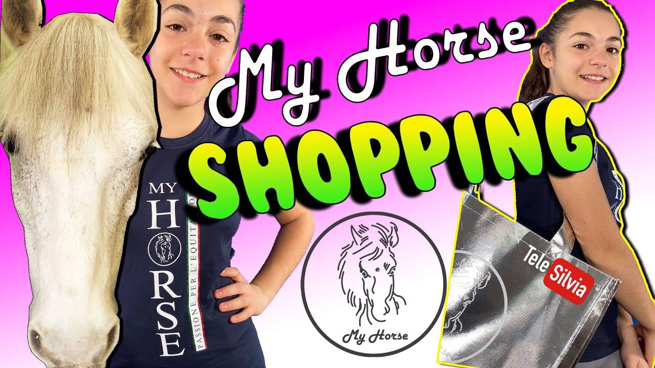 HO COMPRATO UNA MONTAGNA DI COSE DA MY HORSE! EQUI-SHOPPING DEI DESIDERI