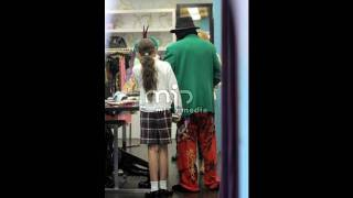 michael jackson shopping with his kids prince paris and blanket at ed hardy april 27 2009