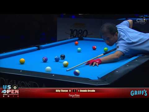 2018 US Open 8-Ball Championship: Billy Thorpe vs Dennis Orcollo
