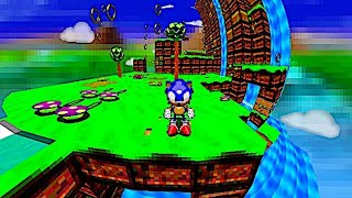Project SXU - The Cancelled SEGA Saturn Sonic X-Treme Game Remade, Complete with 3D Fish-Eye Levels!