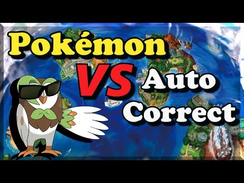 Pokémon vs AutoCorrect Gen 7 - Bulba Tube