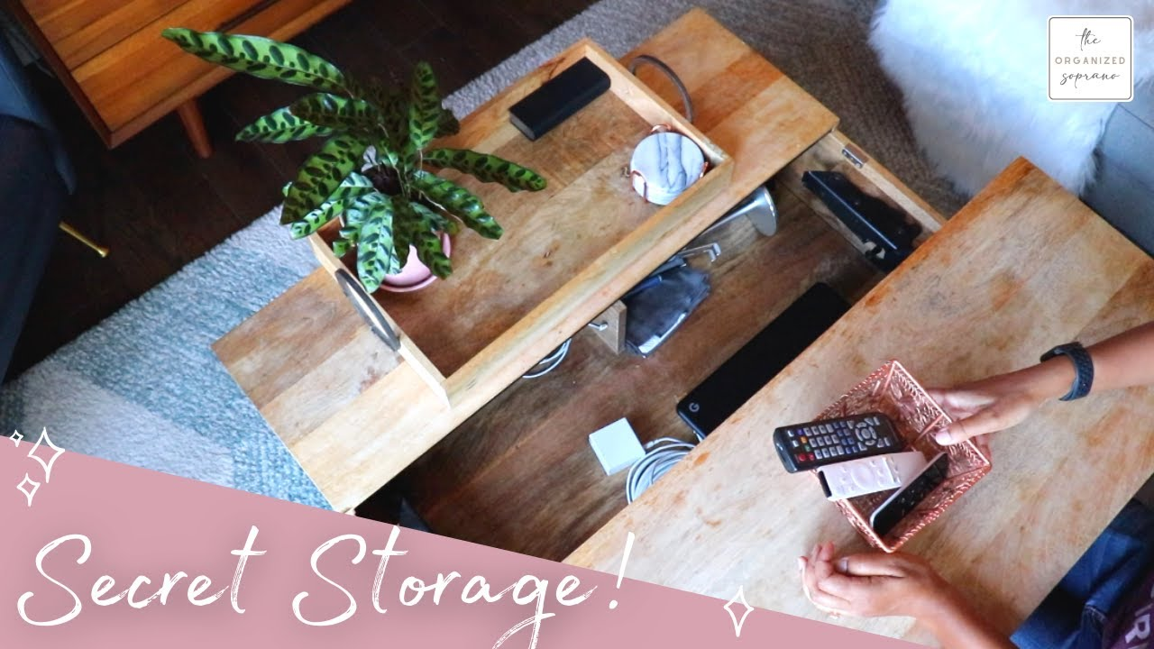 10 Storage Secrets for Small Spaces