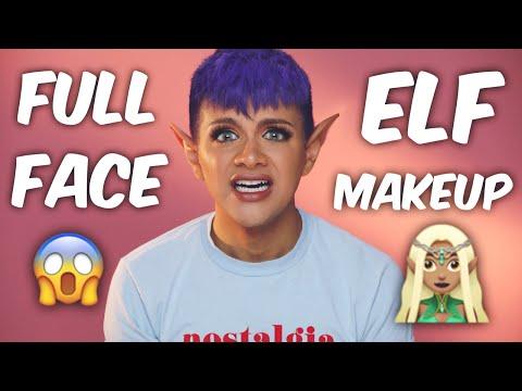 FULL Face Using ELF Makeup | Gabriel Zamora