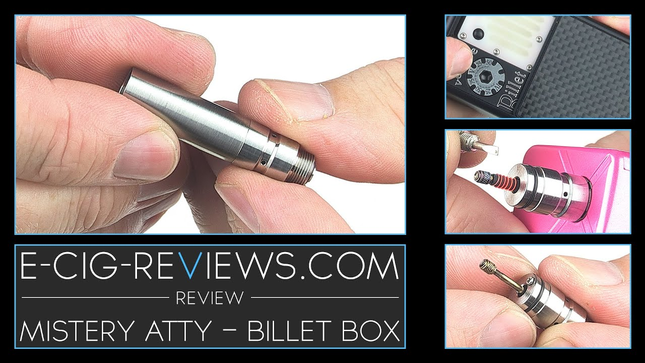 REVIEW OF THE MISTERY GENESIS ATOMISER - BILLET BOX