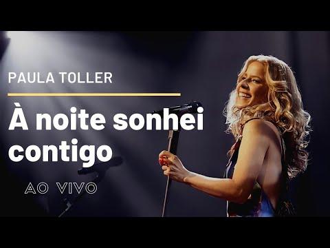 À Noite Sonhei Contigo - Paula Toller - DVD NOSSO