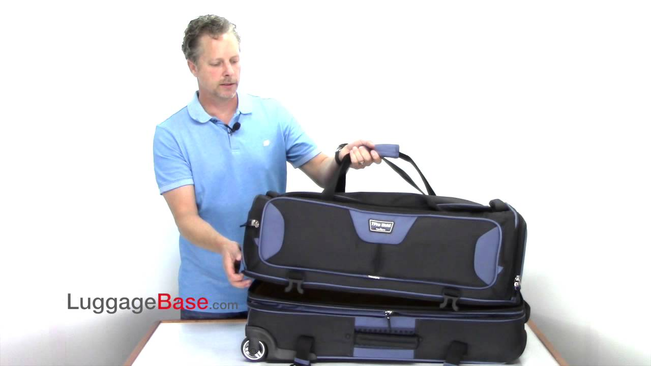 0b73e5eac845 Best Price Travelpro T-Pro Bold 2.0 30 Drop Bottom Duffel - YouTube