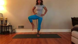 Resistance Band Standing Hips