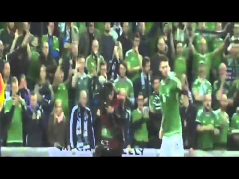 Northern Ireland vs Greece 3-1 All Goals & Highlights European Qualifiers 08.10.2015