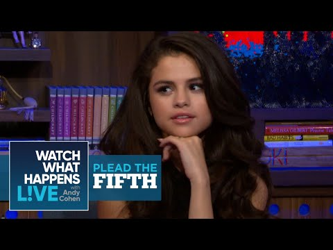 Selena Gomez On Taylor Swift, Demi Lovato And Nick Jonas | Plead The Fifth | WWHL