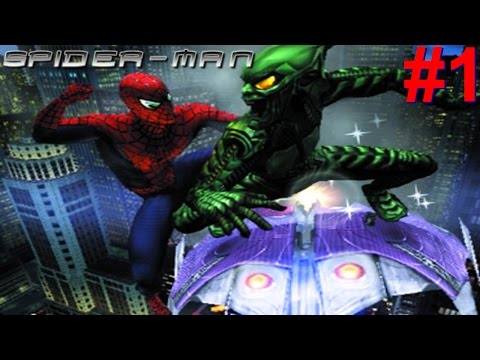 Spider-Man (02) PS2 Gameplay #1 [The Search For Uncle Ben's Killer]