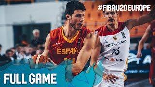 Germany v Spain - Full Game - Quarter-Finals - FIBA U20 European Championship 2017