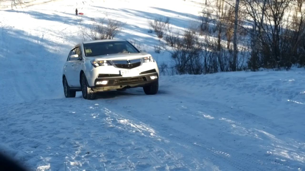 Acura Mdx Ii Sh Awd Snow Cam Out