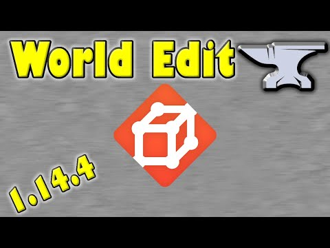 Tutorial - How To Install World Edit For Minecraft 1.14.4 (Forge)