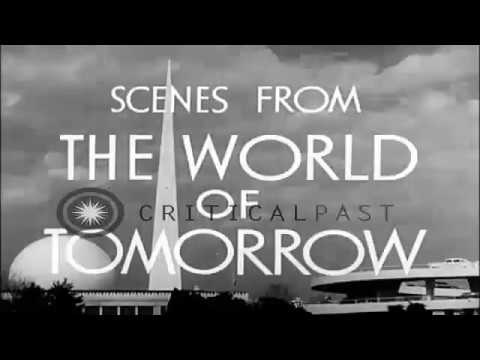 RARE FOOTAGE - Scenes of the 1939-1940 New York World