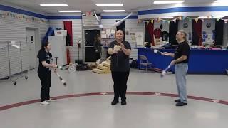 Yo-Yo Tricks in Passing Pattern