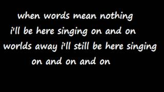 from first to last worlds away lyrics