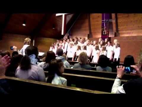 Hope Lutheran School 6th, 7th and 8th Grade Choir