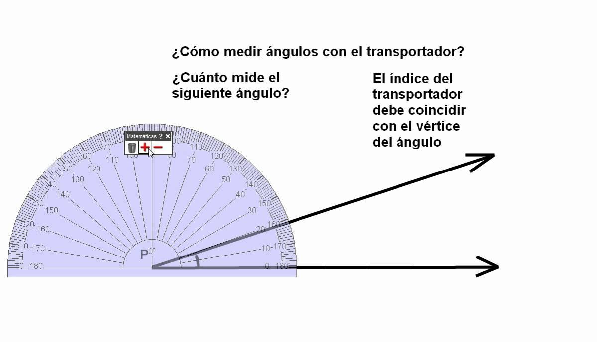 uso del transportador para medir ngulos 2 de secundaria