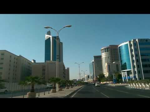 Driving in Qatar From Al Markhiya to Al Mansoura via C- Ring Road Part-1...