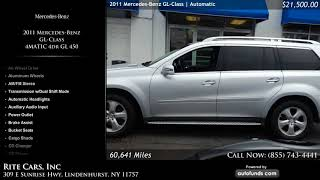 Used 2011 Mercedes-Benz GL-Class | Rite Cars, Inc, Lindenhurst, NY
