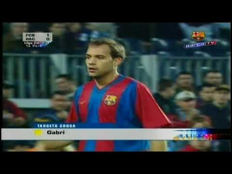 Season 2002/2003. FC Barcelona - Racing Santander RC - 6:1