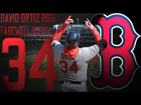 "David Ortiz | Boston Red Sox | 2016 ""Farewell"" Highlights Mix ᴴᴰ"