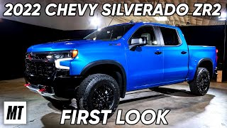 homepage tile video photo for 2022 Chevrolet Silverado ZR2: First Look | MotorTrend