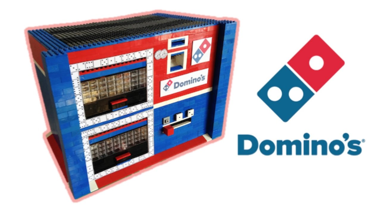 Lego Domino S Pizza Vending Machine Youtube