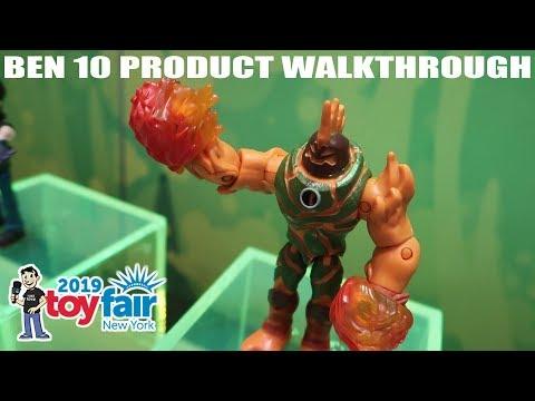 Ben 10 Playmates Toys Product Walkthrough at New York Toy Fair 2019