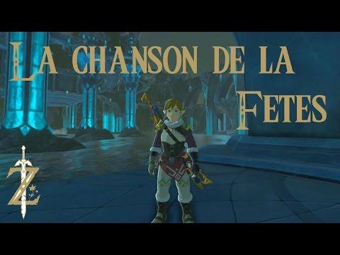 Astuce Zelda Breath of the Wild : La chanson de la fête