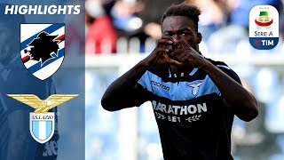 Sampdoria 1-2 Lazio | Two Early Goals See Lazio hold off 10-man Samp | Serie A