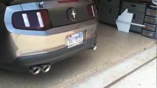 2010 mustang v6 magnaflow quad exhaust