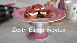 Zesty Easter Scones by Deliciously Ella