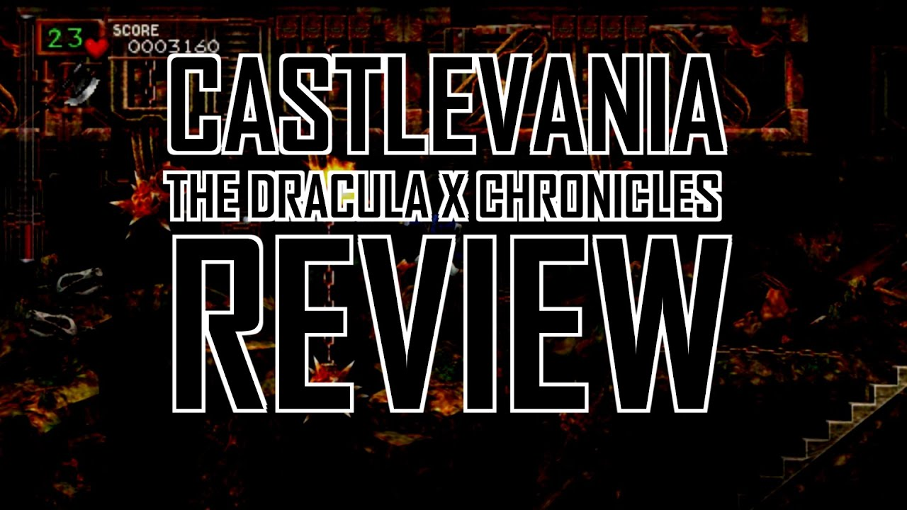 Castlevania The Dracula X Chronicles Review Youtube