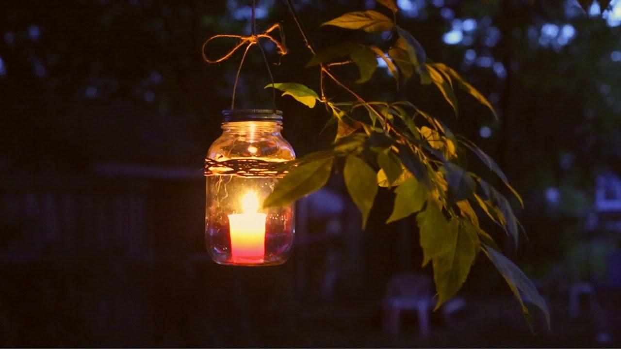 Diy Mason Jar Lantern Youtube