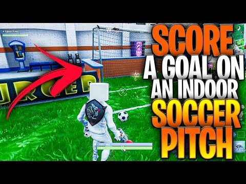 I Joined A Game Of Team Rumble With No Enemies & No Allies - Score A Goal On An Indoor Soccer Pitch