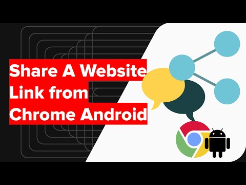 How to Share Website Link from Chrome Android? 2