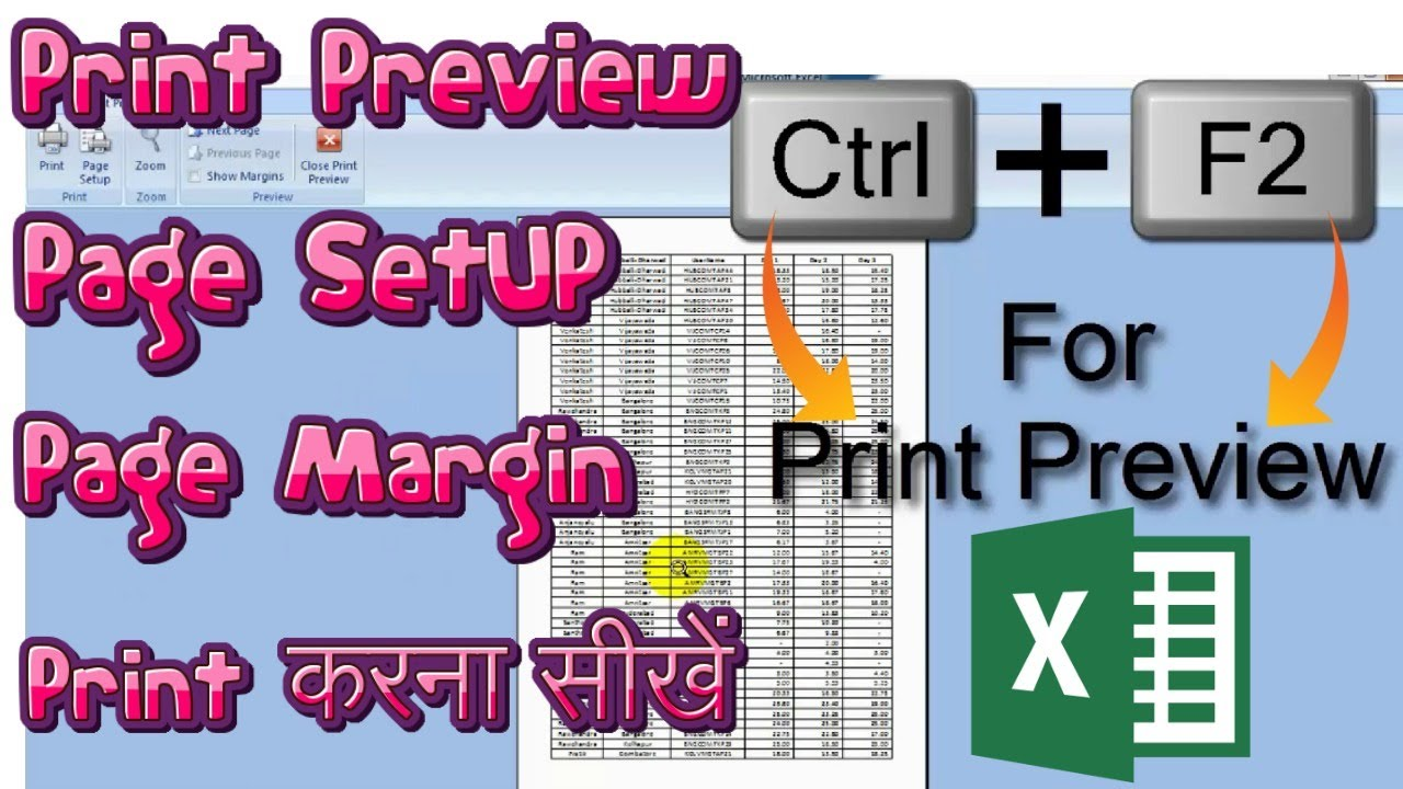 Workbooks how to print an excel workbook : HOW to print Excel Document in ONE PAGE│workbook printing│EXCEL ...