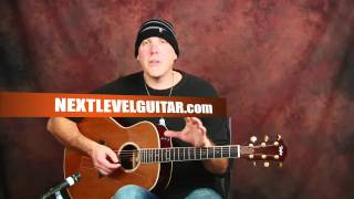 Anyone can play guitar easy beginner acoustic lesson with strumming patterns chords & changes