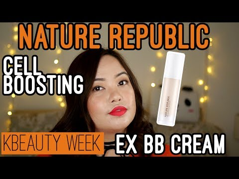 K-BEAUTY WEEK: Nature Republic Cell Boosting EX BB Cream (Oily/Acne) | Anna Luisa