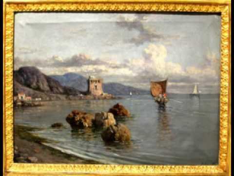 Paesaggi napoletani a cura di antichita 39 scippa youtube for Paesaggi marini dipinti