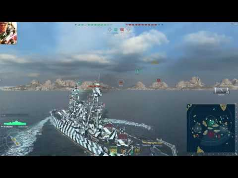 Blowing stuff up in World of Warships