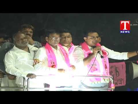 Minister KTR Road Show | Election Campaign | Amberpet | T News Telugu