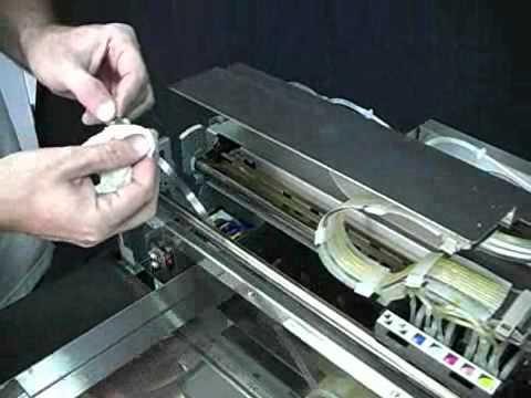 Dtg Kiosk Cleaning The Encoder Strip Youtube