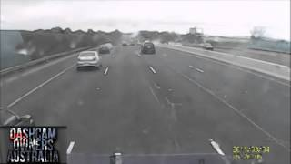 Driver cuts off and brake checks truck - charged with dangerous driving.