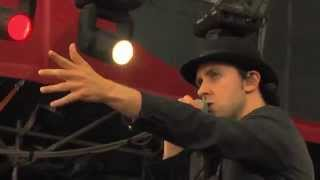 Maximo Park Live - Hips an Lips @ Sziget 2012