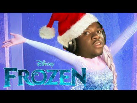 BIG SHAQ  Let It SKRAAA LET IT GO FROZEN SONGMANS NOT HOT Christmas Parody FeatElsa